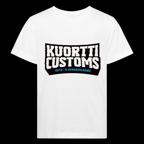 kc pikselilogo - Lasten luonnonmukainen t-paita