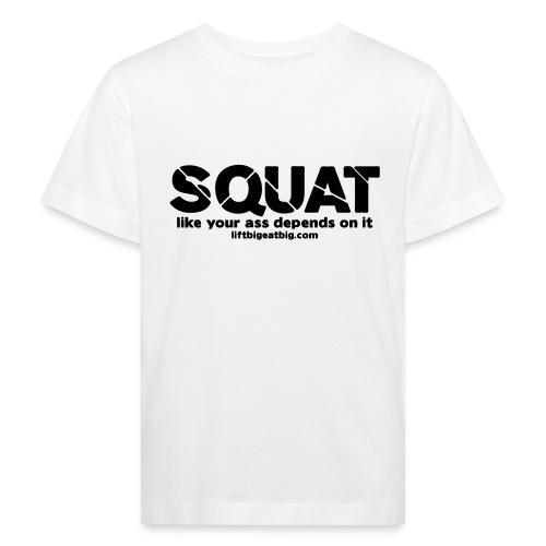 squat - Kids' Organic T-Shirt