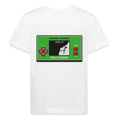 Solo Climber Telespiel - Kinder Bio-T-Shirt