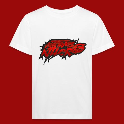 Auftragskillerx2 Schrift - Kinder Bio-T-Shirt