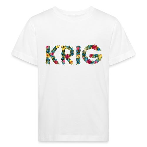 Blomstrende krig - Økologisk T-skjorte for barn