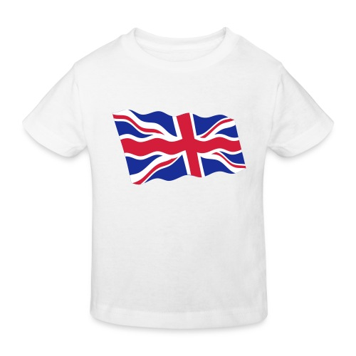 UK / United Kingdom - Kinderen Bio-T-shirt