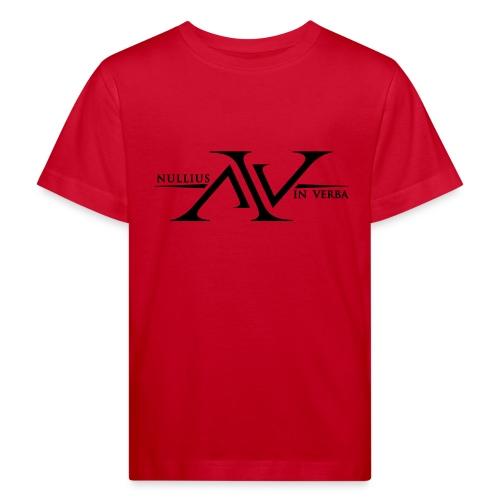 Nullius In Verba Logo - Kids' Organic T-Shirt