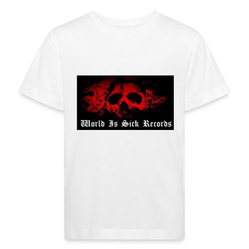 World Is Sick Skull Huppari - Lasten luonnonmukainen t-paita