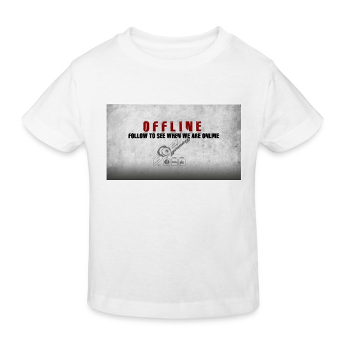 Offline V1 - Kids' Organic T-Shirt