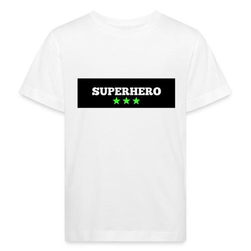 Lätzchen Superhero - Kinder Bio-T-Shirt
