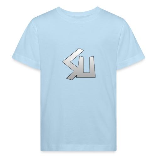 Plain SU logo - Kids' Organic T-Shirt