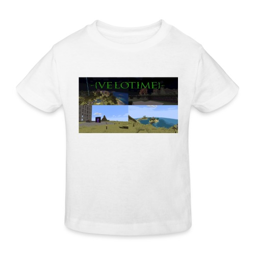 Velotime! - Ekologisk T-shirt barn