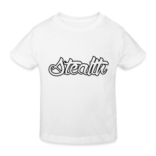 Stealth White Merch - Kids' Organic T-Shirt