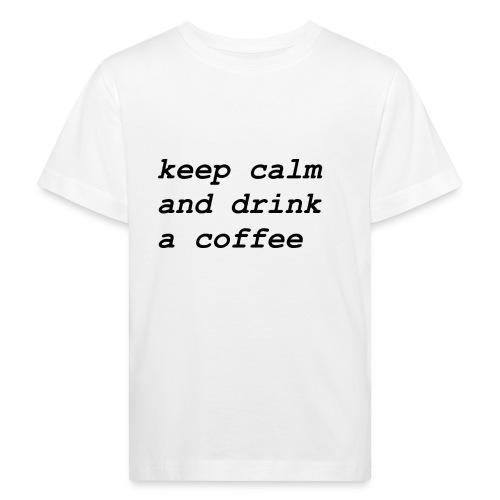 Kaffee - Kinder Bio-T-Shirt