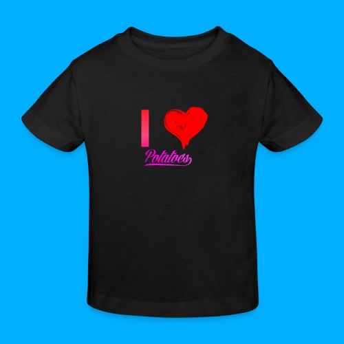 I Heart Potato T-Shirts - Kids' Organic T-Shirt
