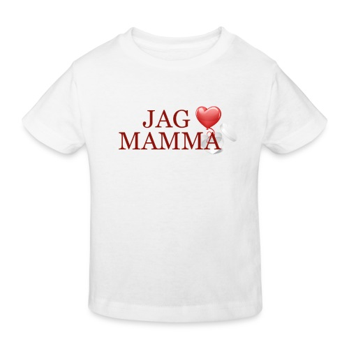 Jag älskar mamma - Ekologisk T-shirt barn
