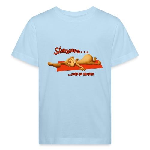 Time for Shavasana - Kinder Bio-T-Shirt