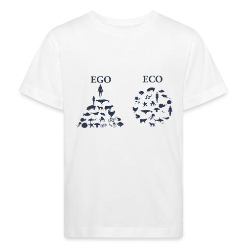 Ego VS Eco - Maglietta ecologica per bambini