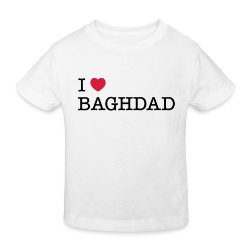 I LOVE BAGHDAD - Kids' Organic T-Shirt