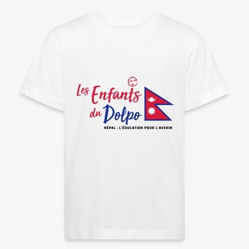 Les Enfants du Doplo - Grand Logo Centré - T-shirt bio Enfant