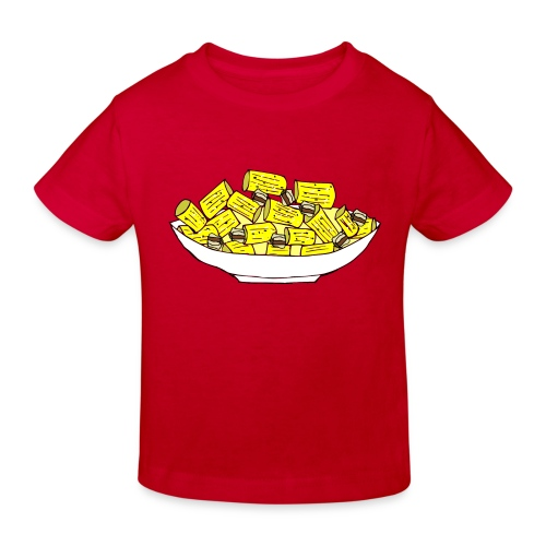 Stay healthy, stay carbonara - Maglietta ecologica per bambini