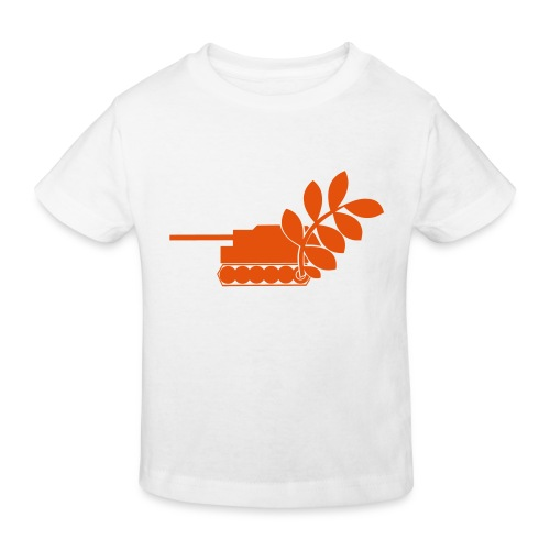 Global Campaign on Military Spending Logo v2 - Kids' Organic T-Shirt