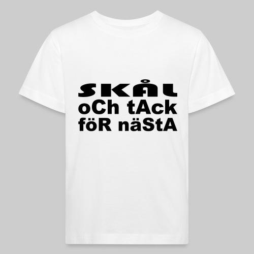 Skål Och Tack - Ekologisk T-shirt barn