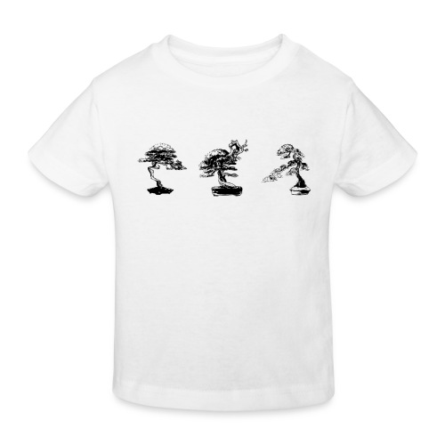 3_bonsai - T-shirt bio Enfant