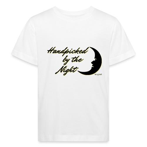 Handpicked design By The Night - Logo Black - Kids' Organic T-Shirt