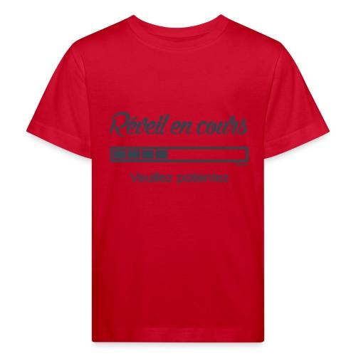 Réveil en cours (F) - T-shirt bio Enfant