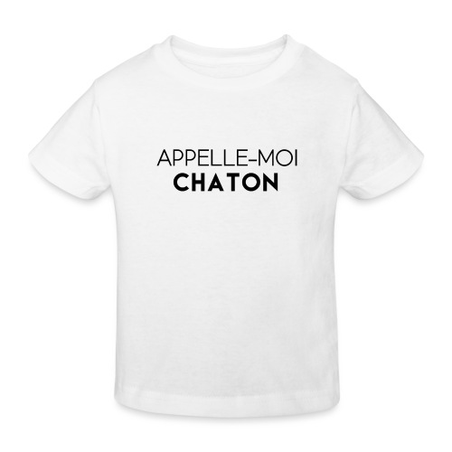 Appelle moi chaton - T-shirt bio Enfant