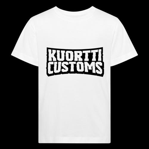 kuortti_customs_logo_main - Lasten luonnonmukainen t-paita