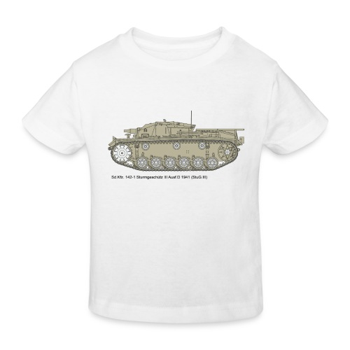 Stug III Ausf D. - Kinder Bio-T-Shirt