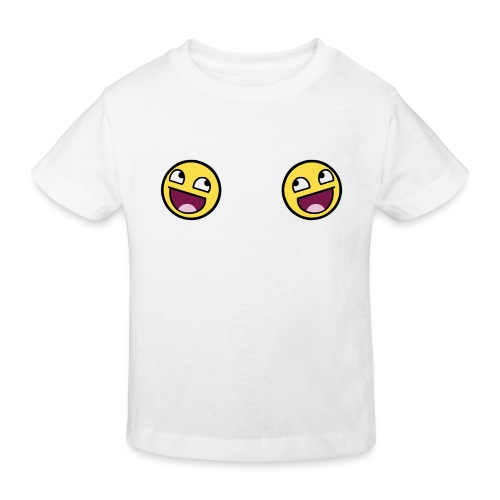 Design lolface knickers 300 fixed gif - Kids' Organic T-Shirt