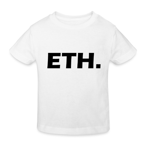 Ethereum - Kinder Bio-T-Shirt