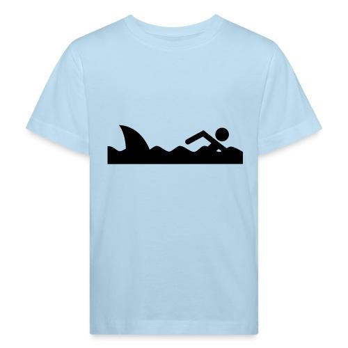 Haifischfutter - Kinder Bio-T-Shirt