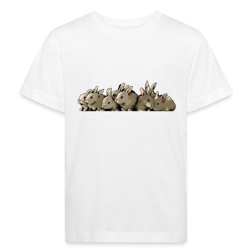 Lapins gris - T-shirt bio Enfant