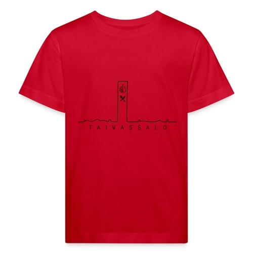 Taivassalo -printti - Lasten luonnonmukainen t-paita
