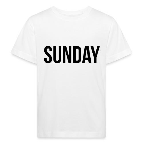 Sunday - Kids' Organic T-Shirt