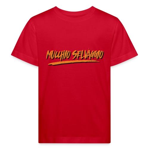 Mucchio Selvaggio 2016 Dirty Orange - Maglietta ecologica per bambini