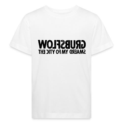 Wolfsburg (black_oldstyle) - Kinder Bio-T-Shirt