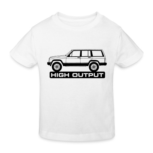 Jeep XJ High Output - Autonaut.com - Kids' Organic T-Shirt