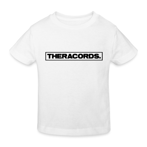 Theracords_logo_black_TP - Kinderen Bio-T-shirt
