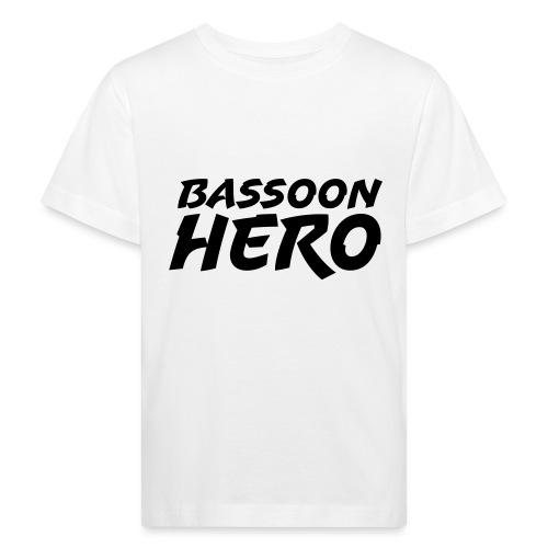 Bassoon Hero - Kids' Organic T-Shirt