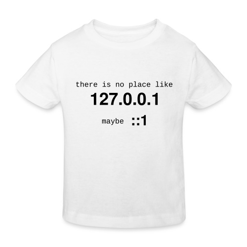 127-0-0-1-::1 - T-shirt bio Enfant