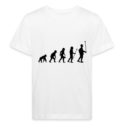 Stabführer Evolution - Kinder Bio-T-Shirt