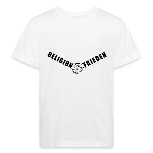 46_Handschlag_01 - Kinder Bio-T-Shirt