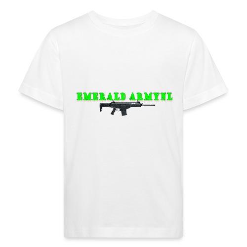 EMERALDARMYNL LETTERS! - Kinderen Bio-T-shirt