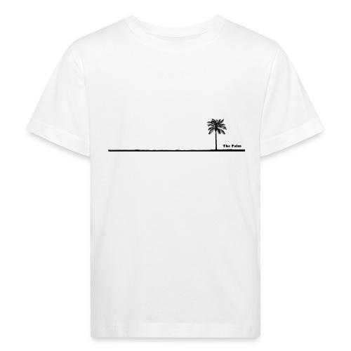 Palm dubai beach black and white - Maglietta ecologica per bambini