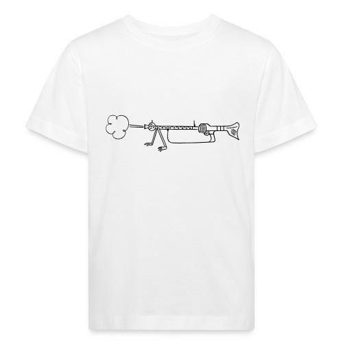 Maschinengewehr 34 - Kinder Bio-T-Shirt