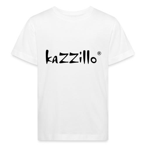 Logo kazzillo - Maglietta ecologica per bambini