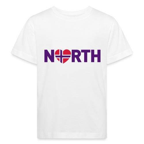 Nord-Norge på engelsk - plagget.no - Økologisk T-skjorte for barn