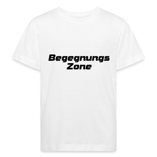 Begegnungszone - Kinder Bio-T-Shirt