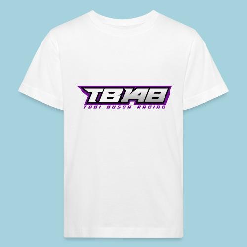 Tob Logo Lila - Kinder Bio-T-Shirt